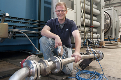 UAHuntsville student seeking holy grail of rocket propulsion system