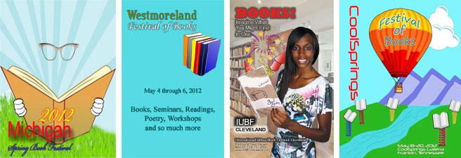 Four Book Festivals