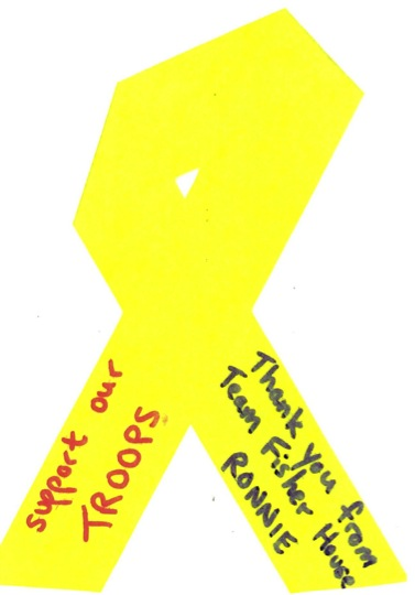 Yellow Ribbon from Ronnie
