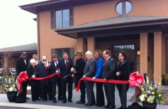 VA Salt Lake City Fisher House Dedication