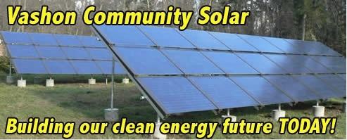 Vashon Community Solar Banner