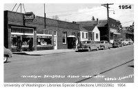 Winslow Way, Bainbridge Island, WA 1954