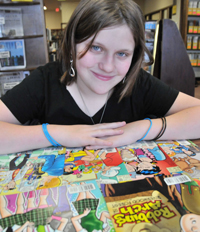 Using Comic Books to Help Others
