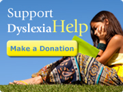 Give to DyslexiaHelp