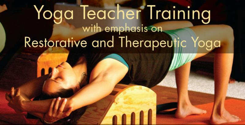 Yoga Teacher Training with emphasis on Restorative and Therapeutic Yoga