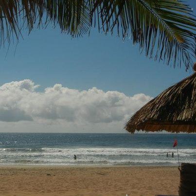 Zipolite beach gorgeous view