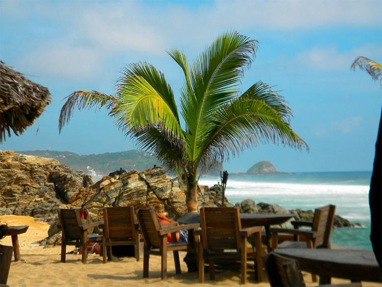 view of Zipolite Beach