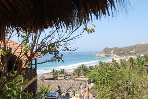 ocean view yoga studio
