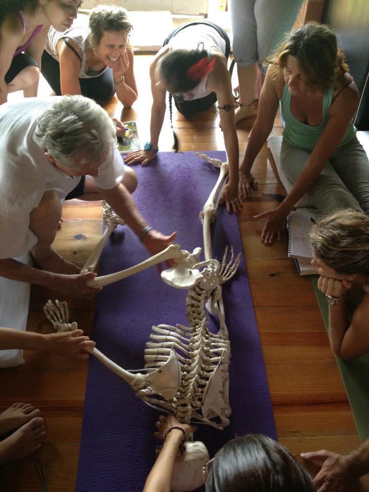 David McAmmond teaching therapeutic restorative yoga
