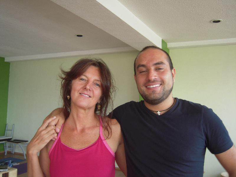 Brigitte Longueville and Rafael Cervantes