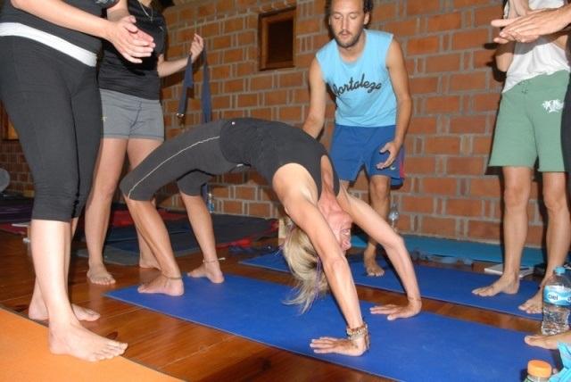profesorado de hatha yoga - 2011 / 2012