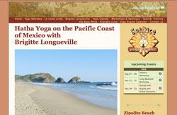 New Solstice Yoga Center Website