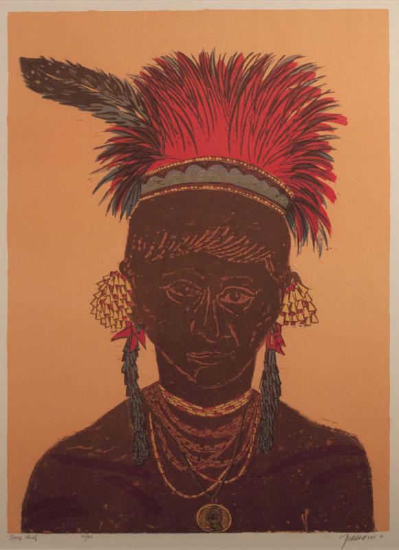 Antonio Frasconi - Sioux Chief