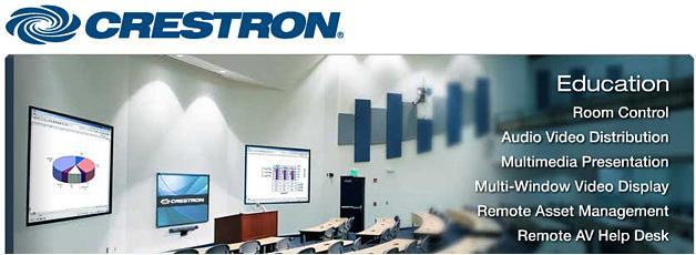 Crestron Education Banner