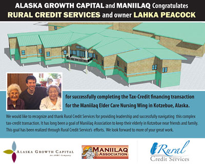 Alaska Growth Capital and Rural Credit Services
