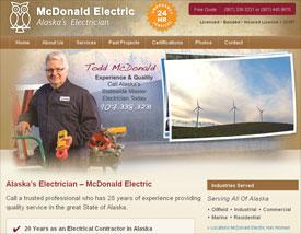 Alaska's Electrician - McDonald Electric
