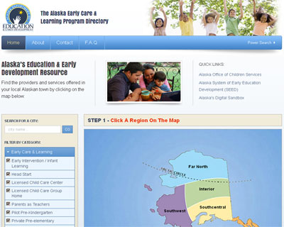 Alaska's Education & Early Development Resource