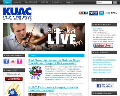 KUAC FM-TV