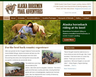 Alaska Horsemen Trail Adventures
