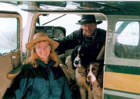 Joe & Cathy's first year in AK, 1996