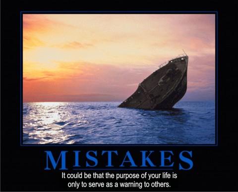 Mistake Header