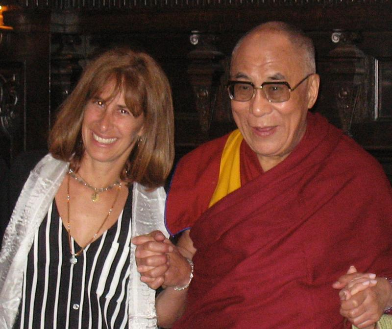 debby and HHDL