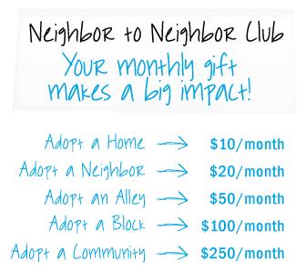 Neighbor to Neighbor Club
