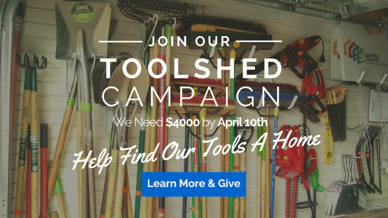 Toolshed Campaign