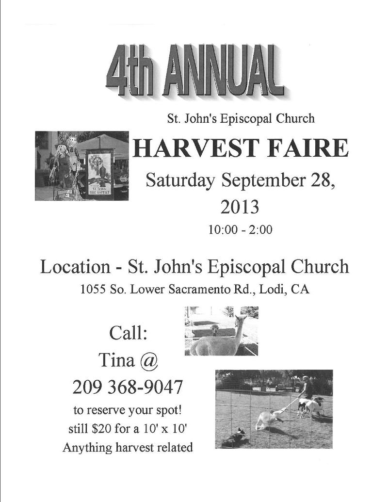 St. John the Bapisit Flyer
