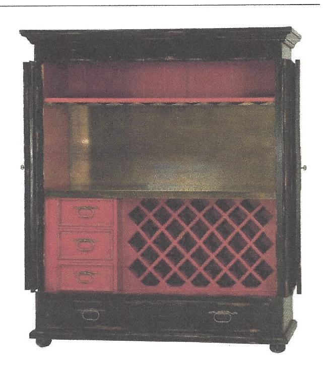 Bar Cabinet Interior