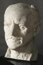 Joseph Motto (1891-1965), Portrait of George Adomeit (1935), Plaster