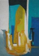 Mary Gehr, New Beginnings, Oil on Canvas, 52 x 37 inches