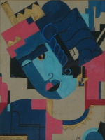 Vera Makagon, Gouache on Paper