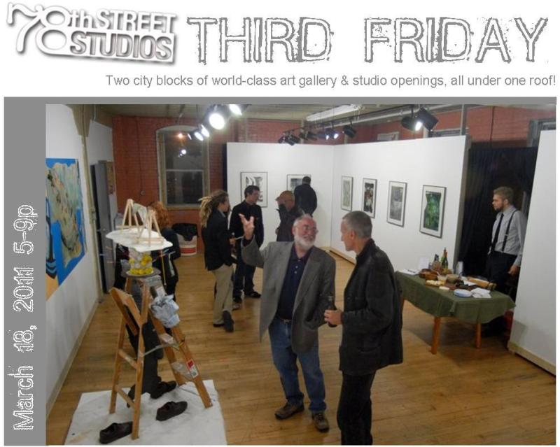 78th Street Studios THIRD FRIDAY