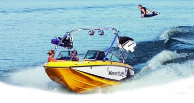 MasterCraft X2 Wakeboard boat Running