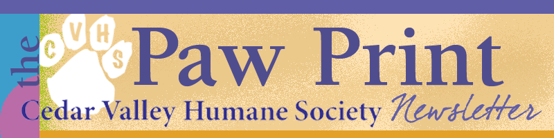 The Paw Print Newsletter masthead