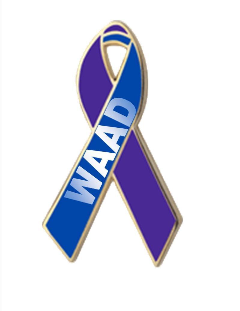 WAAD ribbon