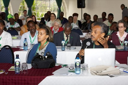 Anteneh and Seble and AAWA Conference in Kenya