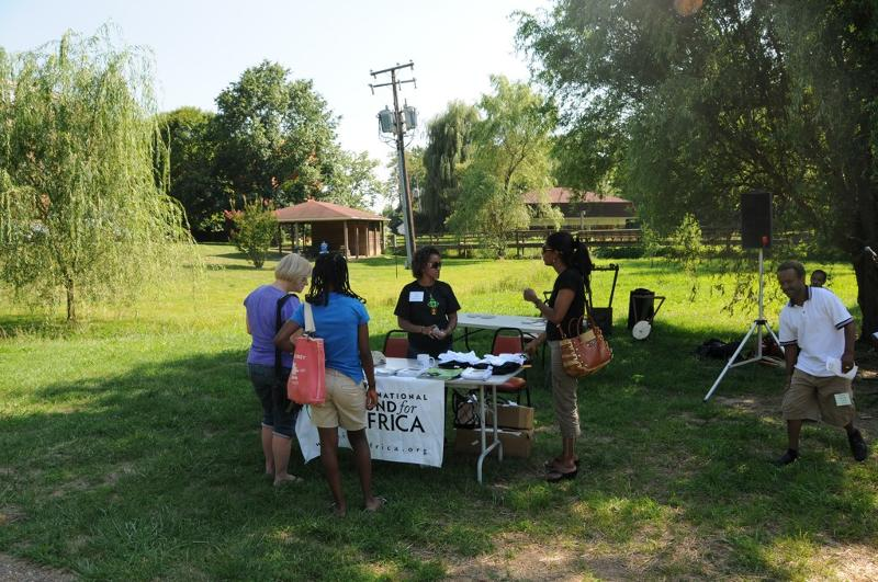 IFA Table at Ethiopian Heritage & Culture Camp