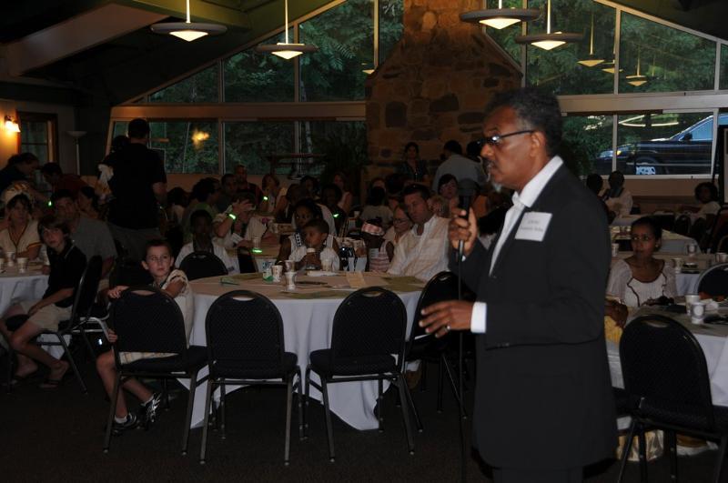 Anteneh Keynote Speaker at Ethiopian Heritage & Culture Camp