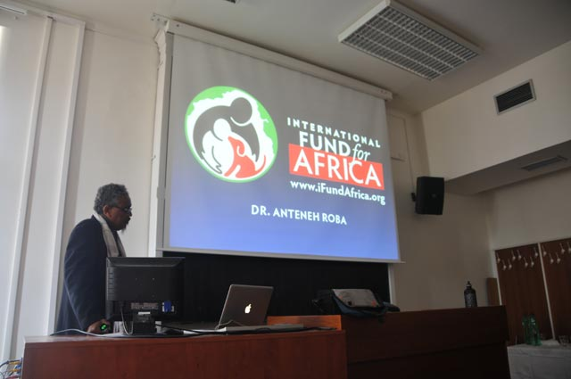 Dr. Anteneh Roba speaks at International Conference on Critical Animal Studies