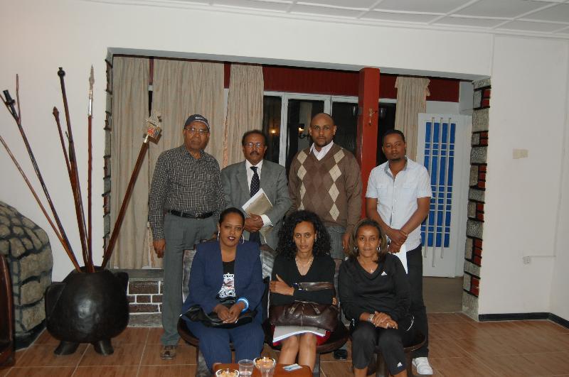 IFA Staff at Addis