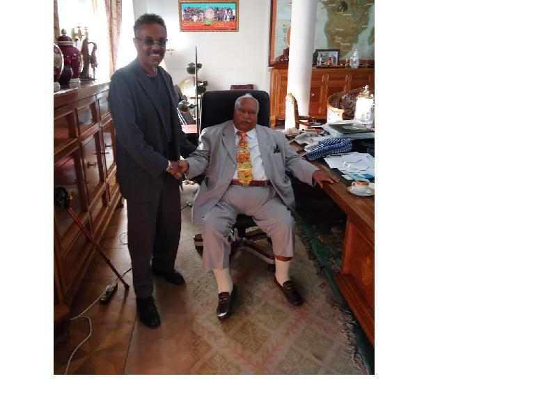 Anteneh with Girma