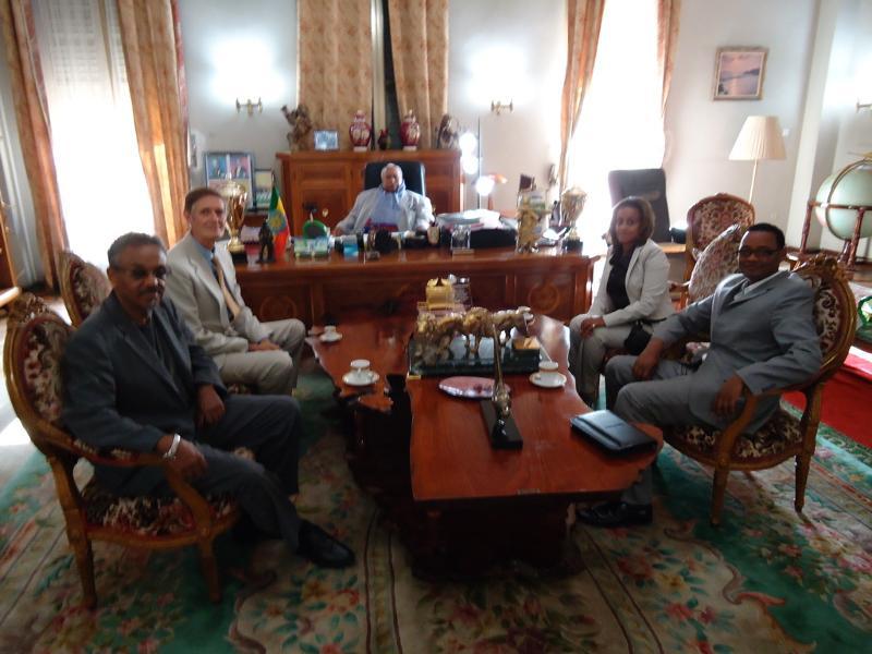 President Girma Meeting