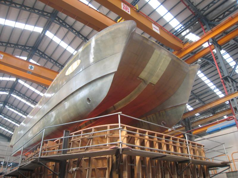 HULL RELEASE FROM MOLD 1