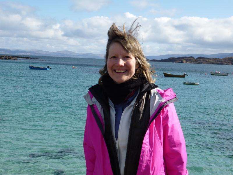 Miriam in Scotland