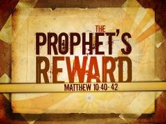 Prophet's Reward