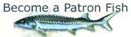 Patron Fish Button