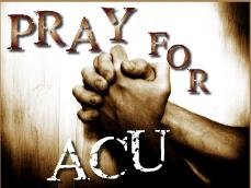ACU praying hands