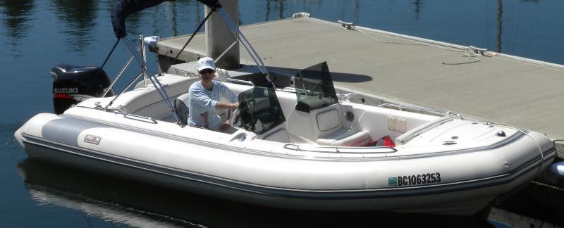 Caroline's New Boat
